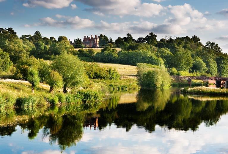 Jubilee River near Dorney, Buckinghamshire
